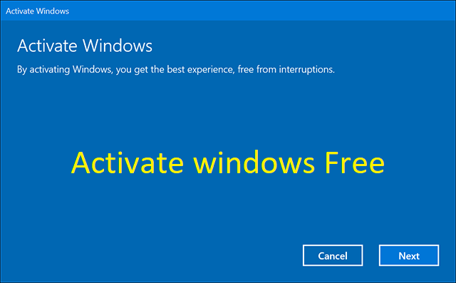 What is Windows 10 Activation?