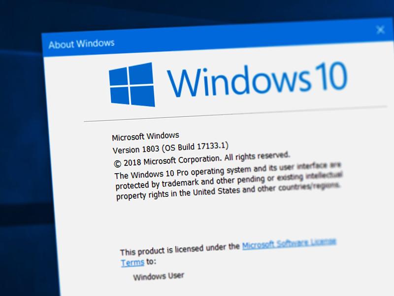 Windows 10 updat