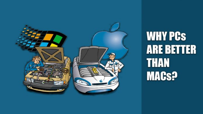 why Windows is better than Mac
