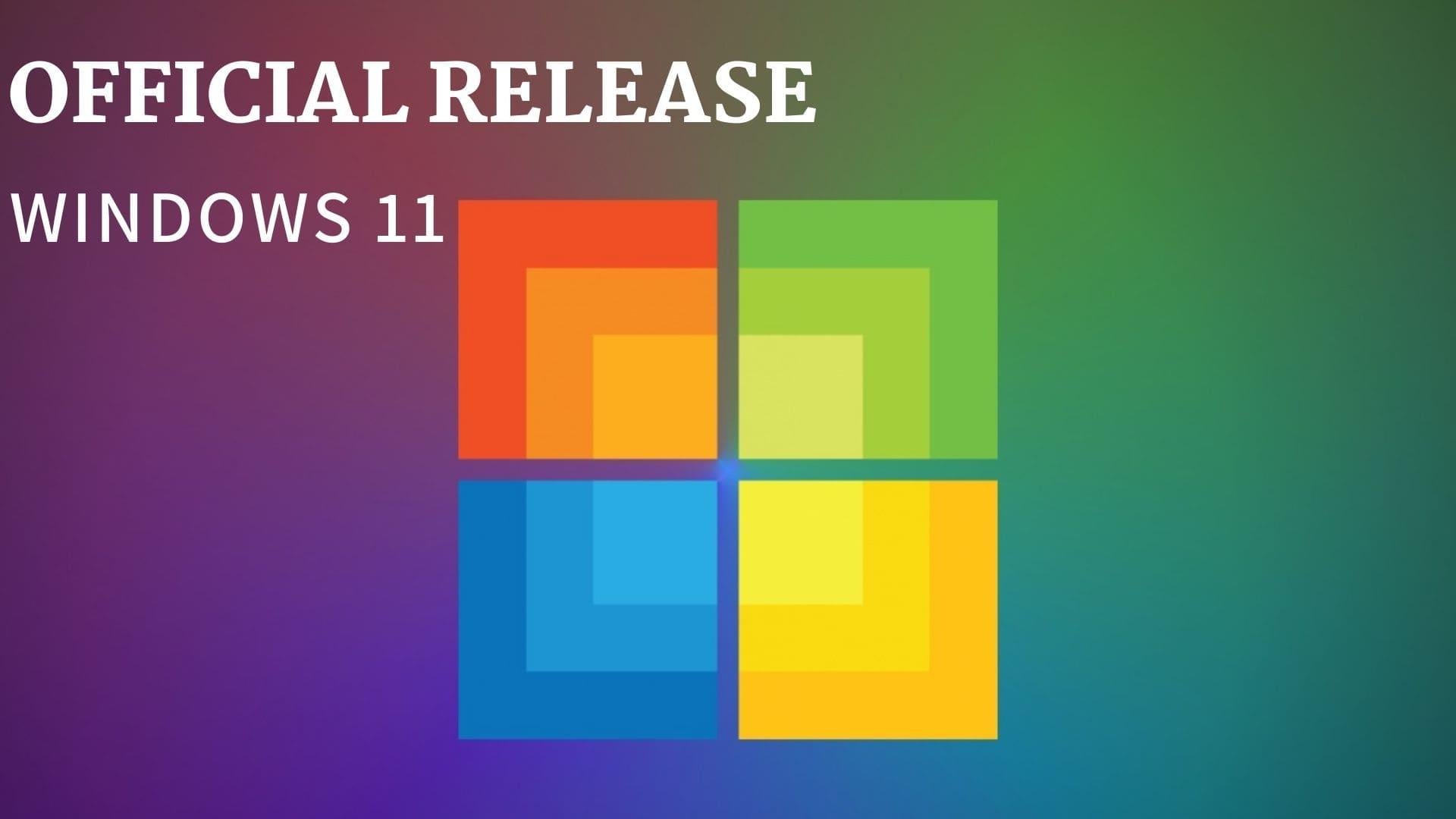 window 11 iso release